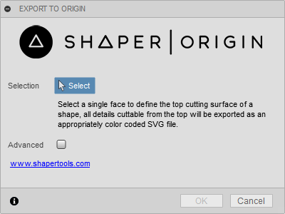 Exporting SVGs from Fusion – Shaper